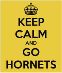 Picture: Keep calm and go Hornets