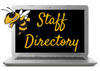 Click the Staff Directory graphic to access staff contact info
